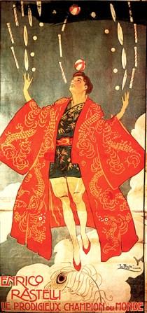 Rastelli en kimono