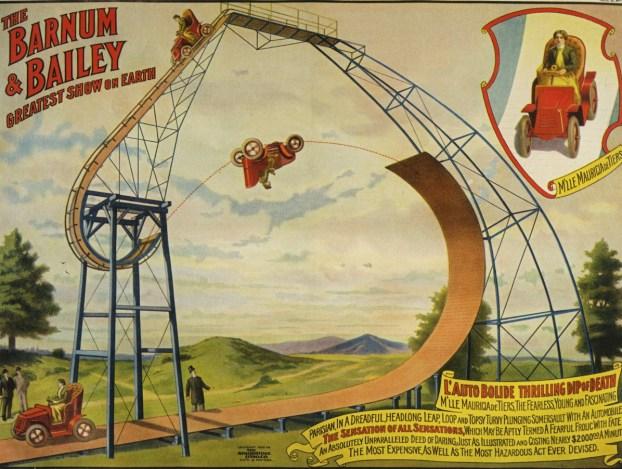 Mauricia de Thiers - Année 1904 au Cirque