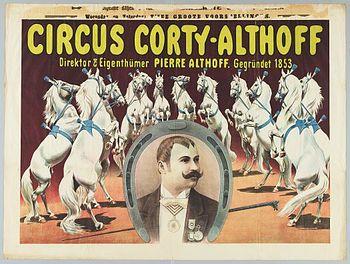 Corty-Althoff direction Pierre Athoff - Année 1904 au Cirque