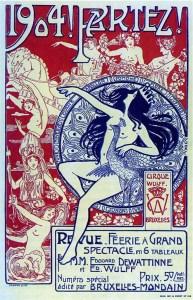 Wulff à Bruxelles - Année 1904 au Cirque