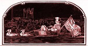 Le clown Dicky Usher - cirques britanniques du début XIXème siècle