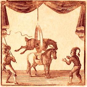 affiche - cirques britanniques du début XIXème siècle