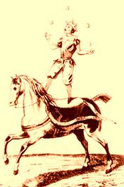Auriol à cheval - Espagne