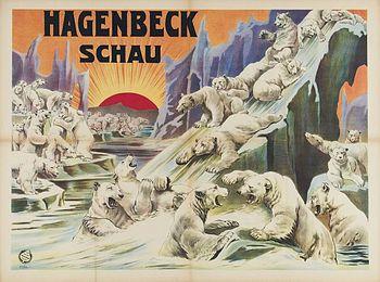 Hagenbeck Schau - Willy Hagenbeck