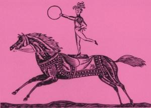 La voltige à cheval - 1768 au Cirque