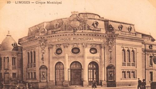 Le cirque en pierre de Limoges