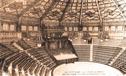 Amiens : Le Cirque d'Amiens - la salle - CPA