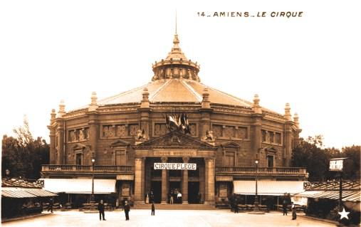 Amiens : Plège au Cirque d'Amiens - CPA