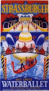 Cirque Strassburger en 1951 - fontaines lumineuses