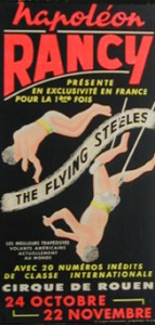 Tony Steele au Cirque Rancy - Rouen