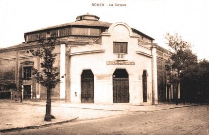 Le Cirque de Rouen dans les années 1930 - Rouen