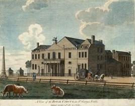 Le Royal Circus à Londres - Année 1782