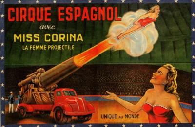 Miss Corina au Circo Espagnol - hommes projectiles