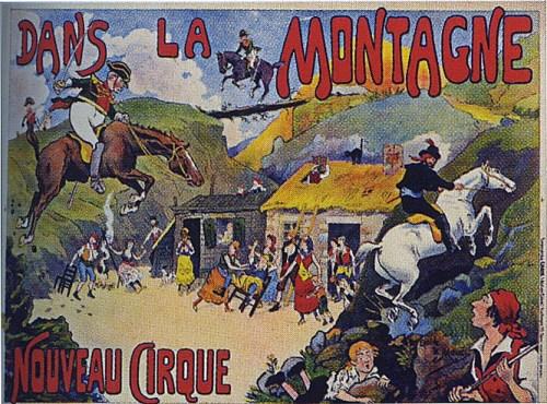 Dans la montagne au Nouveau Cirque - Pantomime :de Cirque