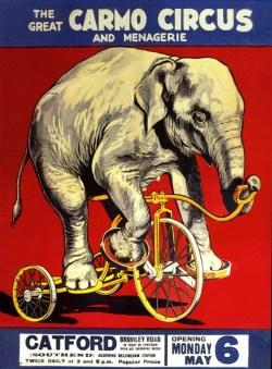The Great Carmo Circus - Baby June - Bertram W. Mills