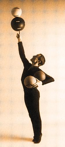 Francis Brunn le jongleur