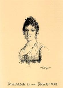 Madame Laurent Franconi - premier Cirque Olympique