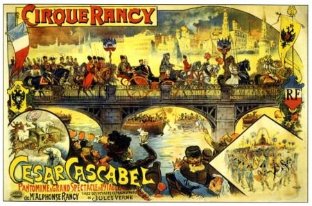 Cesar Cascabel au Cirque Rancy