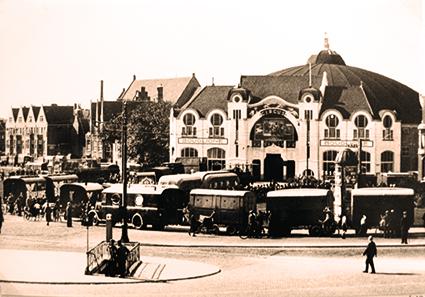 au cirque de Scheveningen - Sampion Ier Bouglione
