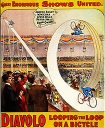 Looping the loop au Cirque