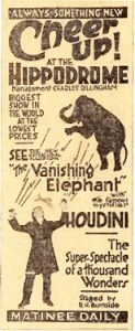 Houdini à New York