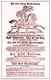 Jacques Tourniaire - affiche de 1823