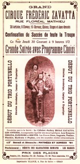 le cirque de  Frederico Zavatta ) 1923