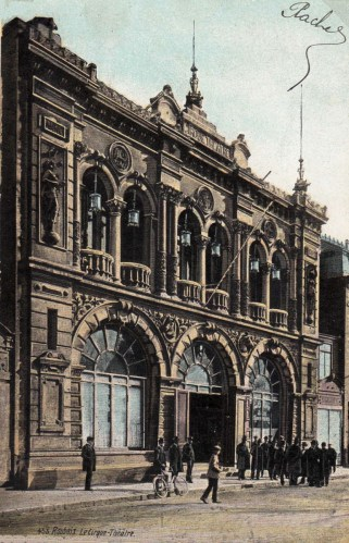 Façade de Roubaix - CPA - 1906