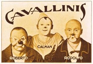 Les Cavallini - quatre frères Knie