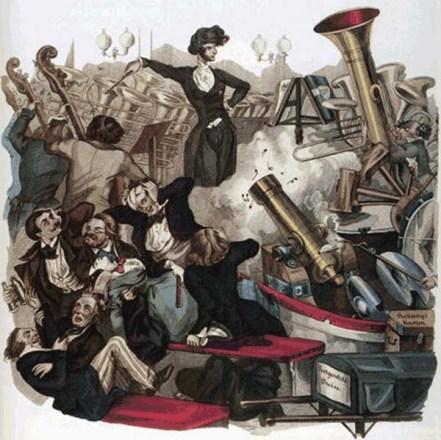 Hector Berlioz par Jean I. I. Gérard