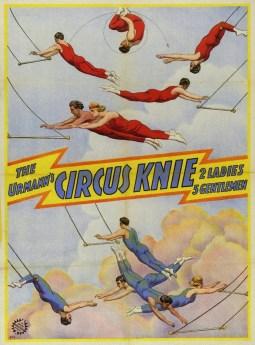 Les Urmann - 1927 - quatre frères Knie
