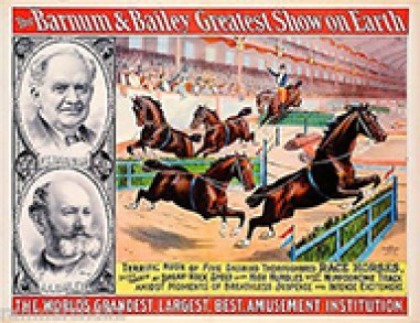 Affiche Barnum & Bailey - histoire