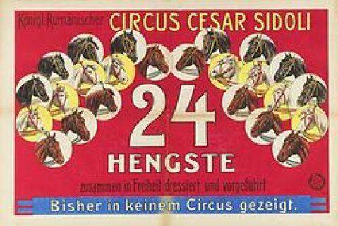 Cirque Sidoli - 1908
