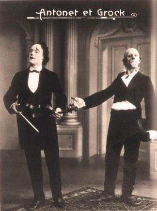 Antonet et Grock - 1908