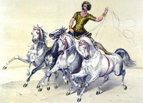 Paul Cuzent - les jeux romains