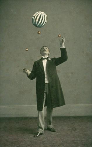 Jonglerie de balles et ballon