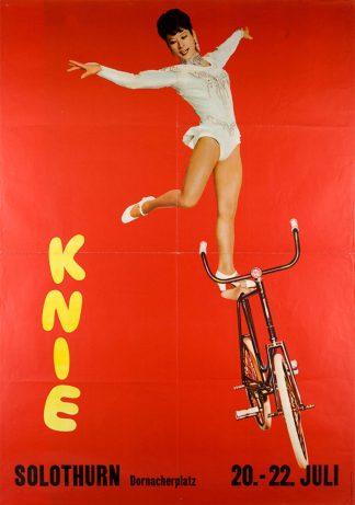 Affiche Cirque Knie - Lilly Yokoï