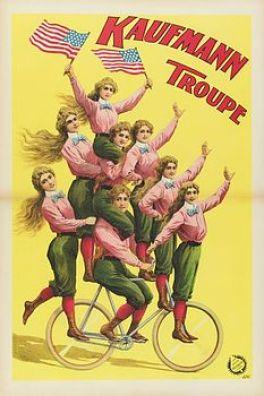 La troupe Kaufmann - cycles