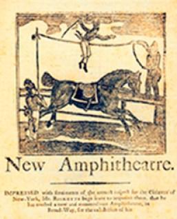 Ricketts en 1794 - affiche