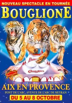 Bouglione à Aix-en-Provence - AFFICHE