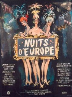 Nuits d'Europe - affiche
