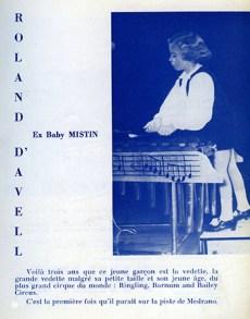 Baby Mistin devenu Roland d'Avell