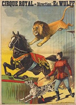 Affiche de Wulff au Royal de Bruxelles