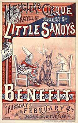 Little Sandy - Hengler Circus -  affiche