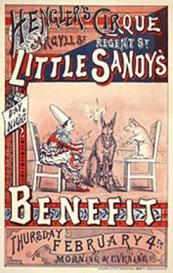 Little Sandy - Hengler Circus -  affiche