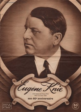 Eugène Knie - 60 ans - journal