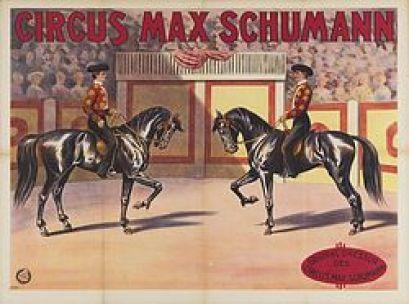 Max Schumann Circus - affiche