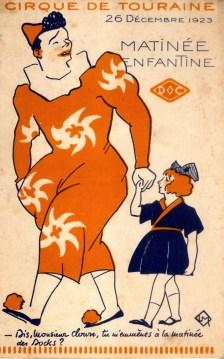 Cirque de Touraine - 1923