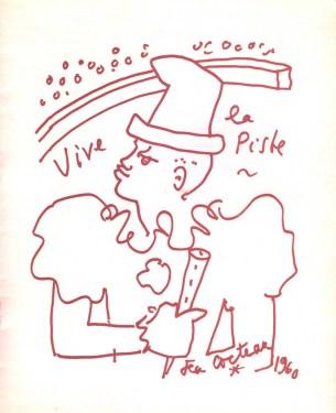 Gala de la Piste - J. Cocteau