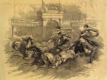 Hippodrome de William Batty - course de chars